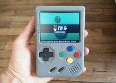 """RetroStone Handheld Retro Gaming Console - Geeky Gadgets  