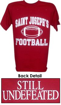 We are undefeated in football because there is no football team. Saint  Josephs University 3281bca91