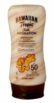 HAWAIIAN TROPIC SILK HYDRATION PROTECTIVE SUN LOTION 180ML SPF 50  Introducing the new sunscreen lotion from Hawaiian Tropics, the only suns...