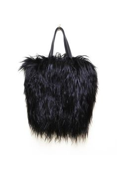 Rough, Meet Refined: Wendy Nichol's Amazing, Handmade-In-Soho Bags  #refinery29  http://www.refinery29.com/39787#slide6  Wendy Nichol Black Goat Tote, $1,150, available at Wendy Nichol.