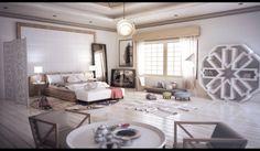 Moroccan Style Interior Design. gorgeous-wood-floor