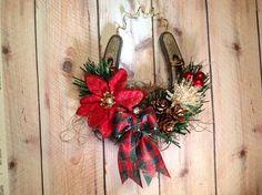 Rustic, Christmas Ornament,Shabby Chic, Horse,Barn, Cottage,Celtic ,Irish Christmas,Farmhouse Christmas,WesternDecor,Irish Wedding Christmas...