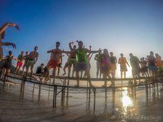 A lendária festa da Lua Cheia na Tailândia