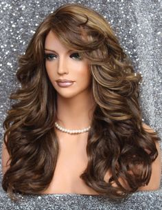 Brown Wigs Lace Hair Blonde Wig Short Curly Hair Platinum Blonde Hair Dye Bakugou Wig Long Length Hairstyles For Men Blond Balayage Hair Afro Haircut Long Layered Hair, Short Curly Hair, Curly Hair Styles, Haircuts For Long Hair, Straight Hairstyles, Middle Part Hairstyles, Jennifer Aniston Hair, Dark Red Hair, Platinum Blonde Hair