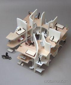 Эксклюзивный дизайн квартиры для байкеров. Токио, Япония. | Архитектура и дизайн…