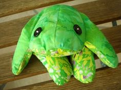 A Blast from the Past...loved the Bean Bag Frog my mom made me..wish I still had it.