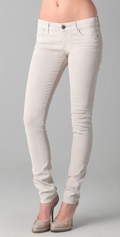 ONE by Coated Skinny Jeans - StyleSays