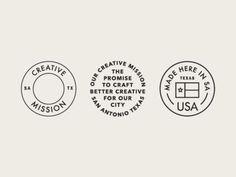 Creative Mission Badges: