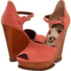 5b8882333284 No results for Sam edelman javi salmon. Peep Toe WedgesWedge ShoesSpring ...