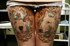 Tattoos with Bull Terriers