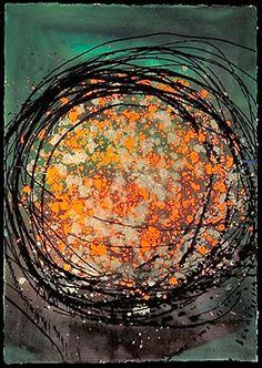 Dale Chihuly - Artist - FLOAT DRAWING, 1996
