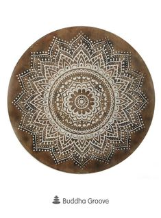 Our striking mandala art features rustic details and an aged finish for antique splendor. Perfect for a yoga studio or living room. Lotus Mandala, Mandala Art, Wooden Wall Art, Wooden Walls, Zen Home Decor, Yoga Studio Decor, Old World, Decorative Bowls, Etchings