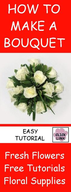 EASY TUTORIALS http://www.wedding-flowers-and-reception-ideas.com/make-your-own-wedding.html  Learn how to make bridal bouquets, corsages, centerpieces, boutonnieres and church wedding decorations!