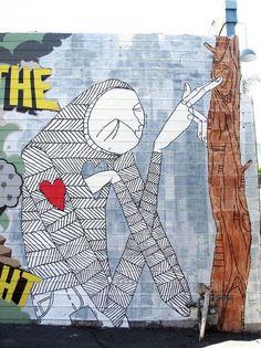 "Graffiti Exhibition ""INSIDE JOB: STREET ART IN TEL AVIV"" at the Tel Aviv Museum of Art"