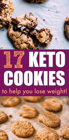 Cookies on the keto diet?? YES! These keto cookies recipes are AMAZING. If you're on the keto diet, you'll love these dessert keto recipes. (Number 5 is my fave!) Try all of these incredible low carb cookies recipes! #keto #ketogenic #ketodiet #ketorecipes #ketocookies #ketogenicrecipies