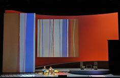 Madama Butterfly from San Francisco Opera. Production by Leslie Swackhamer. Sets by Jun Kaneko.