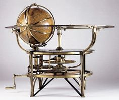 A Large, Mid-19th Century GEARED TELLURIUM