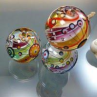 Melanie Moertel's gorgeous glass beads