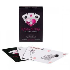 For those who fancy a really exciting card game there are now these Kama Sutra playing cards. 54 cards, with a unique Kama Sutra position featured on each one. Carta Real, Kama Sutra, Playing Card Games, Love Store, Sexy Gifts, Adult Games, Some Fun, Games To Play, How To Memorize Things