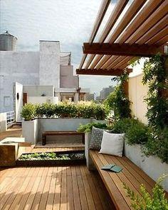 jardins em terracos