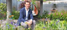David Neale and the Silent Pool Gin Garden, at the RHS Chelsea Flower Show 2019 - Pumpkin Beth