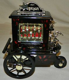 UNUSUAL VINTAGE 1850 ORGAN GRINDER CALLIOPE MUSIC BOX