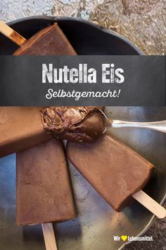 Shake Recipes, Ice Cream Recipes, Smoothie Recipes, Nutella Popsicles, Nutella Recipes, Cacao, Summer Desserts, Food Inspiration, Food Porn