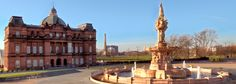 People's Palace and Winter Gardens museum, Glasgow Green.
