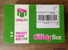 Canadian Subscription Box Addict: Project Candy Box Review - Launch Box - Candy Subscription Box