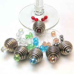 Beaded Wine Charms!