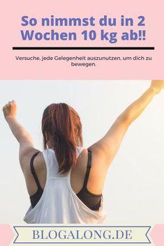 So nimmst du 10 kg in 2 Wochen ab! #Gesundheit #Diät #Blogalong