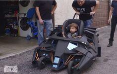 Batman Kinderwagen