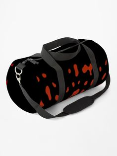 """""""Silverstone's Poison Dart Frog - Black"""" Duffle Bag by LAEC-Shop 