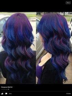 Purple& blue heaven