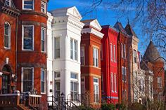 #TBT take a look at this row of historic homes in Washington, DC #realestate