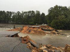 Midlands roads, interstates closed due to flooding - wistv.com - Columbia, South Carolina