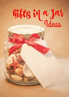 Give some thoughtful homemade gifts in a jar to friends and family, check out our tips and ideas.