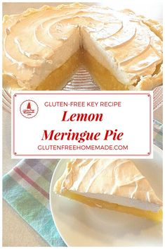 """Fantastic!"" ""Best Lemon Meringue Pie recipe, ever!"" That is what taste testers say when they experience this gluten-free, corn-free Lemon Meringue Pie. Lovely, lemony lusciousness! 
