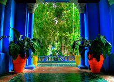 Marjorelle Gardens, Yves Saint Laurent, Marrakech