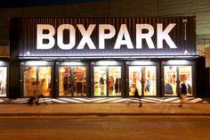 BoxPark - Neat retail idea!