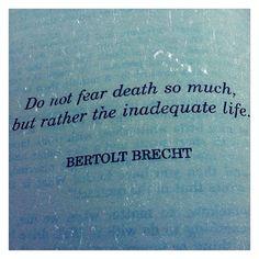 Bertolt Brecht - Photo by charmaineerose