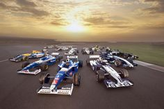 600 races for Williams F1 Team.