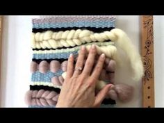 Watch Aideen show you how to weave on Prima's Fiber Arts Loom Kit!!! #weaving…