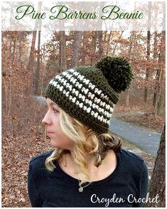 Pine Barrens Beanie - Croyden Crochet