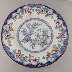 Minton Poonah Bowl c1850  Victorian Chinoiserie by LoftyMix, $21.00