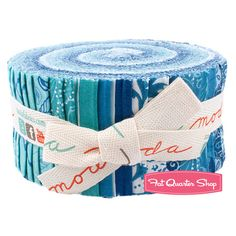 Seascapes Jelly Roll for Single Irish x 2 ordered ( need the white yet, pattern Missouri Quilts video)