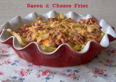 Más dulce que salado: Bacon & Cheese Fries :Patatas al estilo Foster´s H...