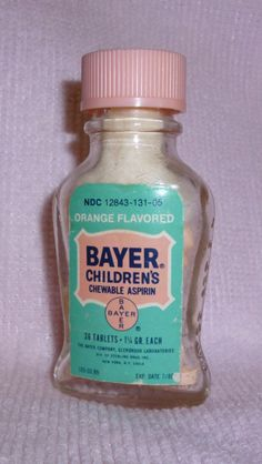 Remember taking Baby Bayer for a fever? Remember faking a headache so you could have baby aspirin 'cause they tasted so good? My mom would put on a spoon with a bit of water.