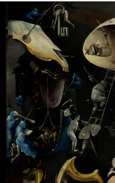 """""""The Garden of Earthly Delights""""  by Hieronymus Bosch"""