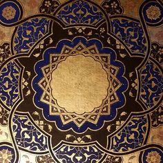 #art #geometri #60sihirlidokunuş #sergi #eser #2017 #tezhib #rumi #penç #nature #naturel #worldart #gold #mandala #